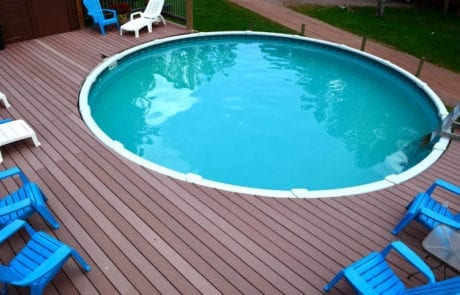 outdoor pool and patio